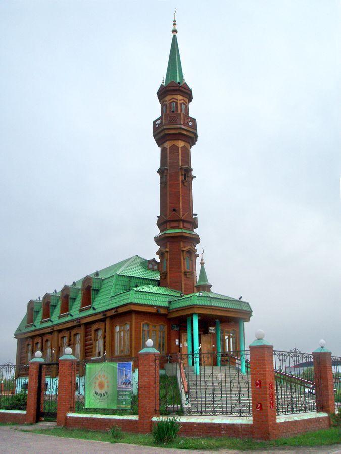 Мечети татарстана альметьевский район фото