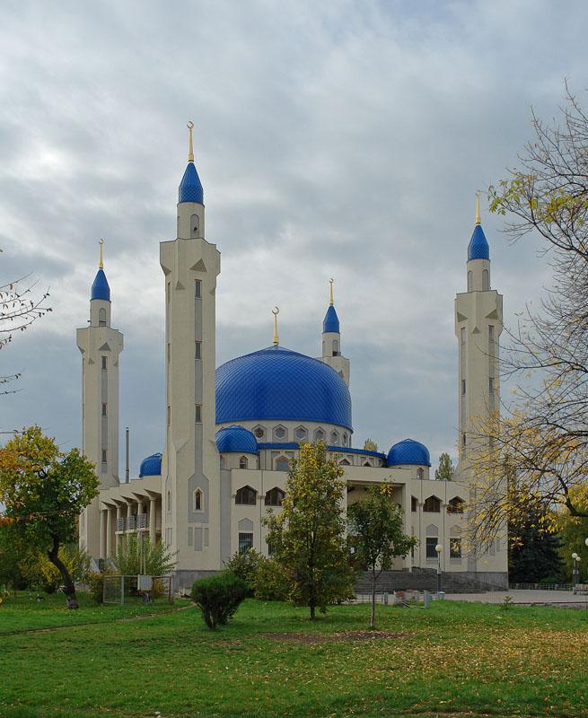 Схема соборной мечети