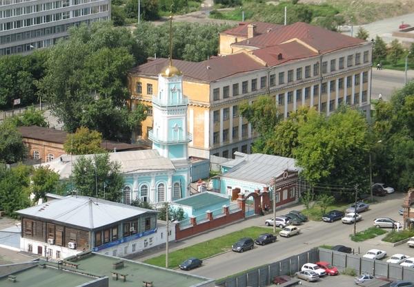 Центральная мечеть (Белая мечеть) (Челябинск, Россия, Челябинская ...