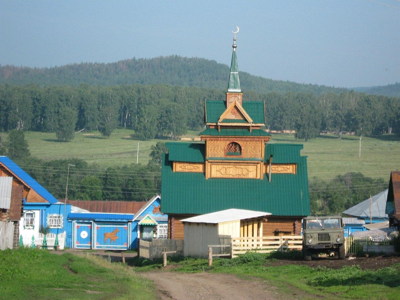 Деревенская мечеть картинки