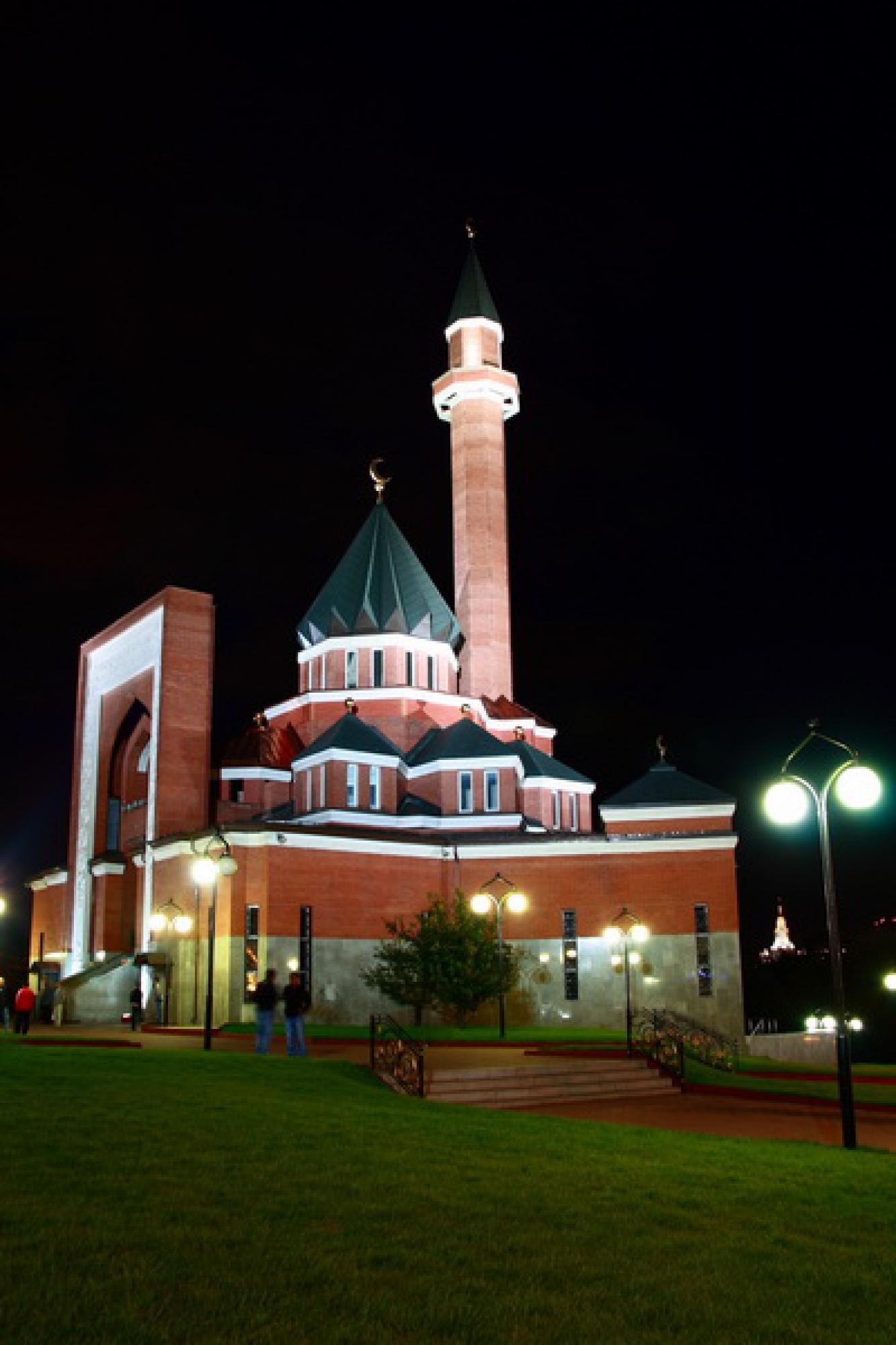 мемориальная мечеть на поклонной